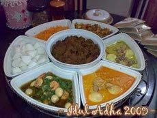 idul adha 1430 H (2009) dapur cantik
