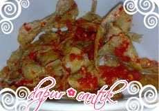 balado ikan asin kapas dapur cantik