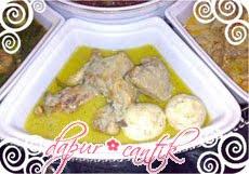 opor ayam dapur cantik