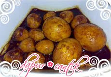 semur telur ampuh masak bulat dapur cantik