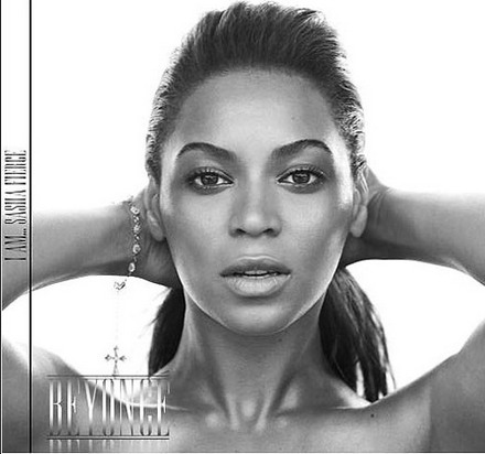Beyonce Album on The Cd Itself Is Very Sinmple With The Same Name And Title Across The
