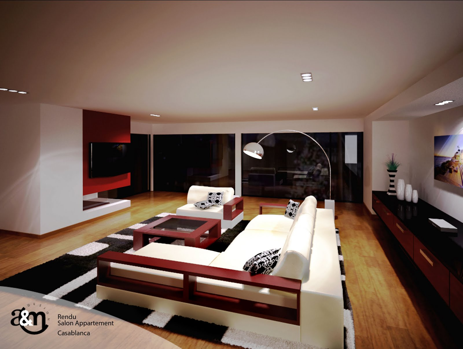 A m design architecture d 39 interieur design agencement for Interieur stylen