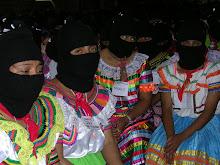 Primeiro dia do Encontro de Mulheres Zapatistas