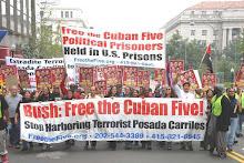 Marcha pela libertação dos 5 patriotas cubanos antiterroristas