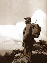 Fidel Castro nas montanhas de Cuba