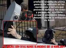 Golpistas de Honduras usam equipamento eletrônico israelense contra a Embaixada brasileira