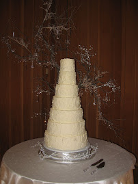 7-tier round buttercream