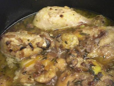 Pollo Con Salsa De Uvas...