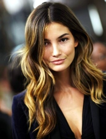 Brunette Summer Ombre Hair Color