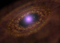 Nascimento de um Planeta Extra Solar.