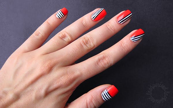 lacquerized nail