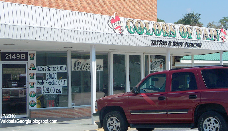 Tattoo Body Piercing Shop Valdosta Georgia Tattoo Piercing Brent title=