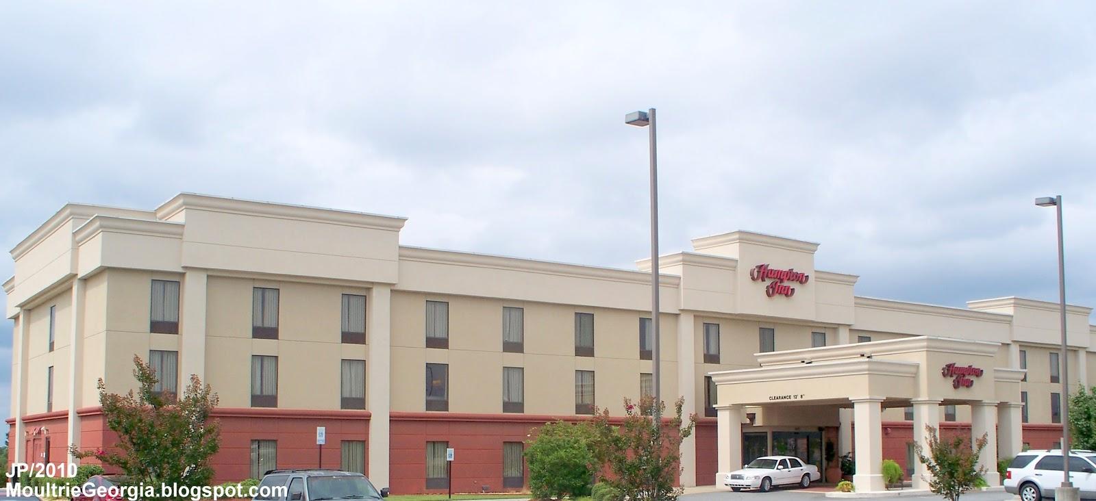 Hampton Inn Hotel Moultrie Georgia Lodging Colquitt County Ga East Byp
