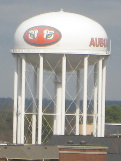 Auburn University Water Tower