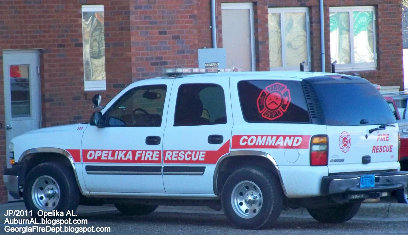Alabama lee county salem - Opelika Fire Rescue Dept Station 4 Fire Chief Command Car Opelika Alabama Fire Department Lee County