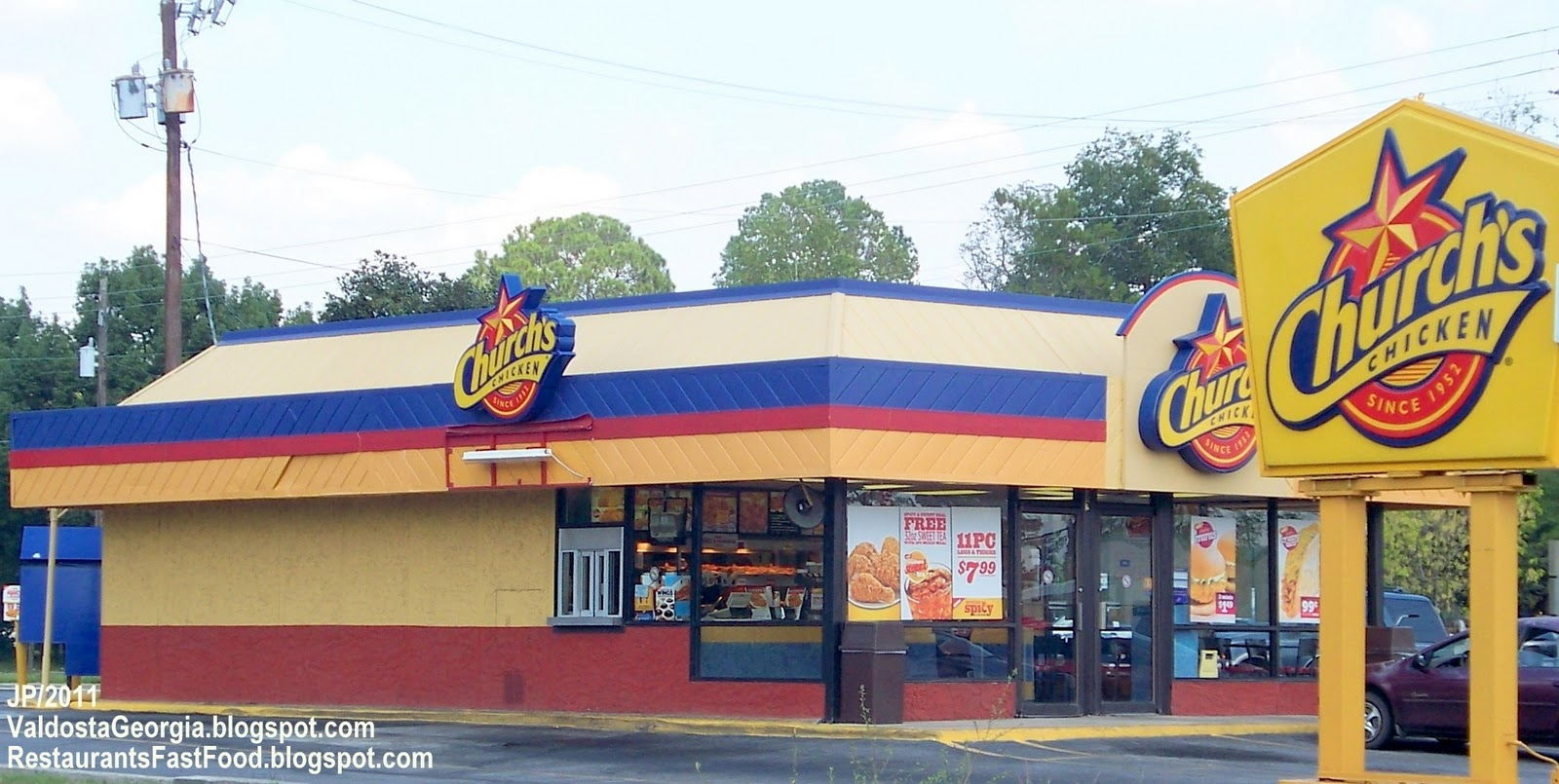 two fast food restaurants Together, the two restaurants dominate the fast-food industry — the nearest runner-up is burger king, which accounts for only 57% of all.