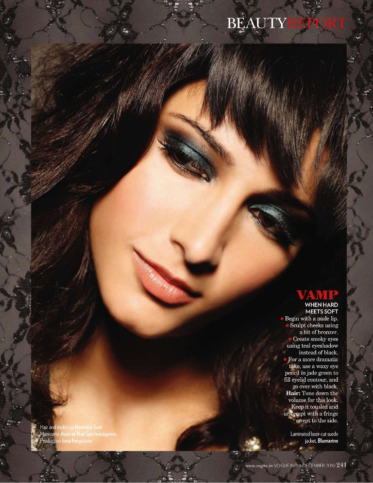 Shruti hassan sexy eyes pic - Shruti Haasan vogue magazine photoshoot