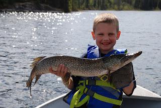 red lake fishing