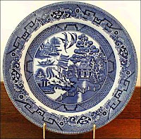 ... viewed pieces of Willow Pattern china and then chose their own part of the story to illustrate. Their designs were transferred to paper plates ...  sc 1 st  Use Your Coloured Pencils - Blogger & Use Your Coloured Pencils: Willow Pattern Paper Plates