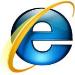 Microsoft Internet Explorer 8 logo/screenshot