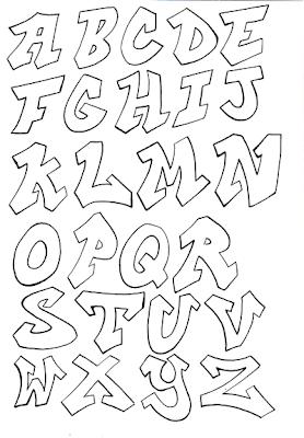Cool Graffiti Alphabet Letters