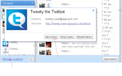 GoogleWave-tweety