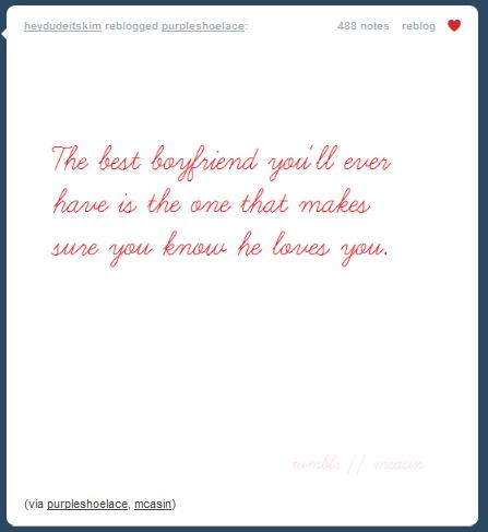 But I got distracted by my tumblr and indulged my senses in love quotes