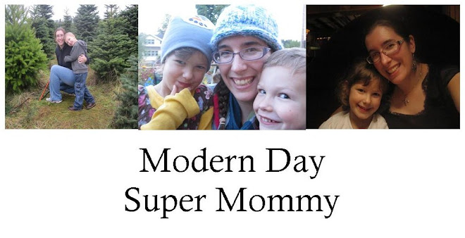 Modern Day Super Mommy
