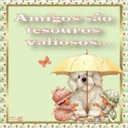 AMIGOS SÃO TESOUROS VALIOSOS