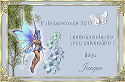 Lembrança de aniversário -AGUA DE ROSAS