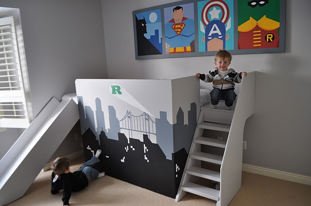 Super Cool Beds : Keep It Simple, Sister}: Super Cool Super Hero Bed