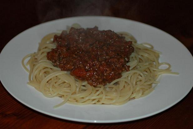 Great, traditional, British spag bol