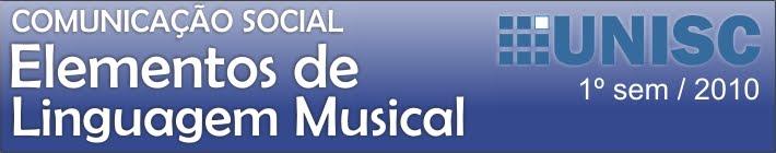 Elementos de Linguagem Musical