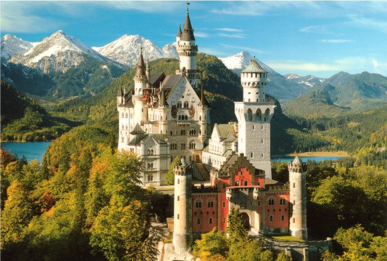 1 - Beautiful Castles in the World