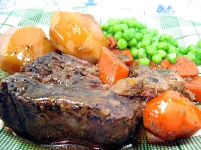 Coleen's Recipes: BEEF POT ROAST (OVEN BRAISED)