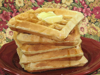 CREAM CHEESE WAFFLES FOR THIS WEEKEND by Coleen's Recipes