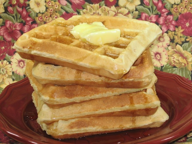 Coleen's Recipes: CREAM CHEESE WAFFLES