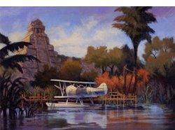 Tokyo Disneyland and Disney Sea Artwork