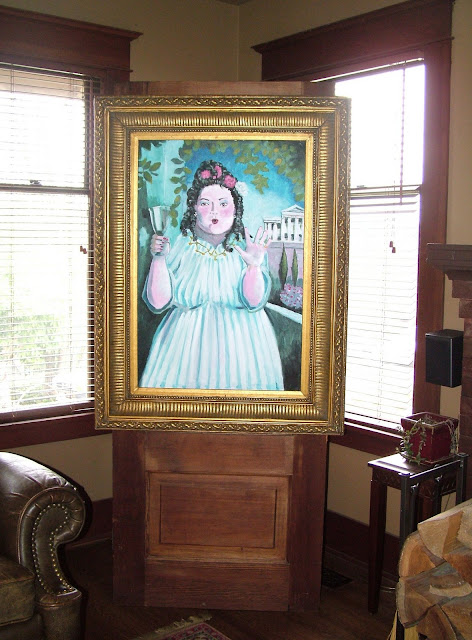 my harry potter party the paintings the fat lady eye