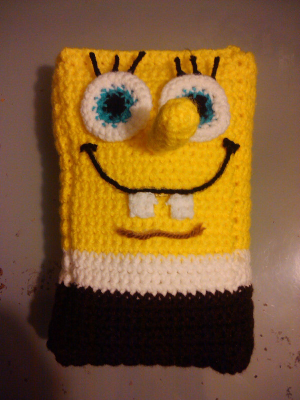 Crochet, its more than a Hobby its an addiction.: Spongebob Pillow ...