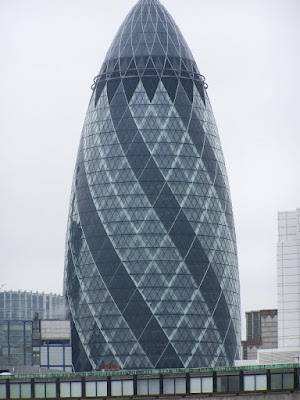 Egg Shaped Building In London
