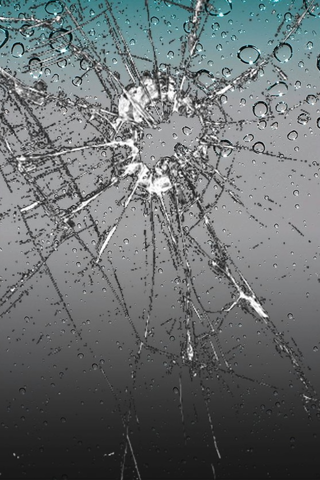 cracked screen wallpaper for - photo #11