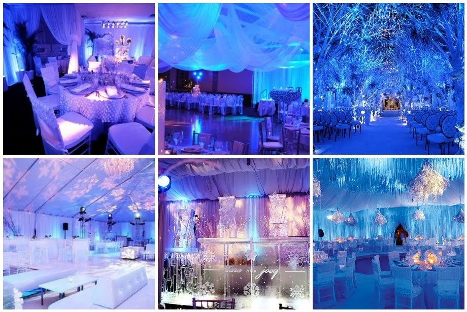 thing that Kristy wanted was to have a Winter Wonderland Themed wedding