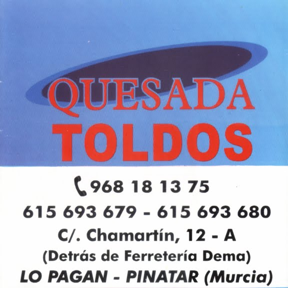 Toldos Quesada