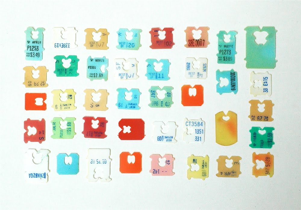 a collection - Bread Ties Color