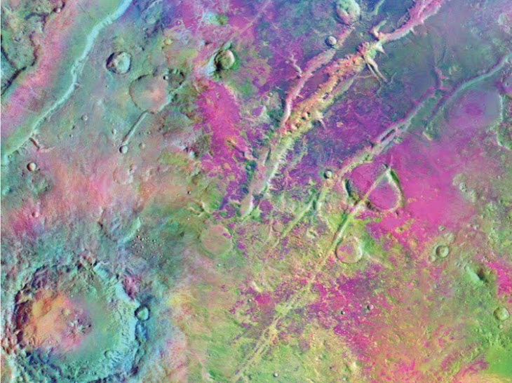 LES COULEURS DE MARS