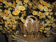 CESTA DE FLORES