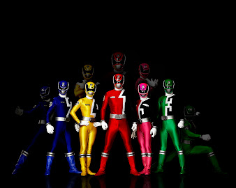 #1 Power Rangers Wallpaper