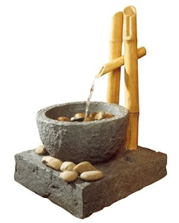 DESIGNER FOUNTAINS: Bamboo Floor Fountain Natural Stone Finish: i ...
