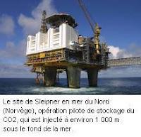 site norvégien de stockage de CO2